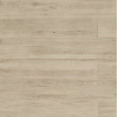 Othello 7.75 x 47.13 Porcelain Wood Field Tile in Oak