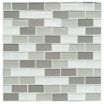 City 1 x 2 Glass Mosaic Tile in Cardiff