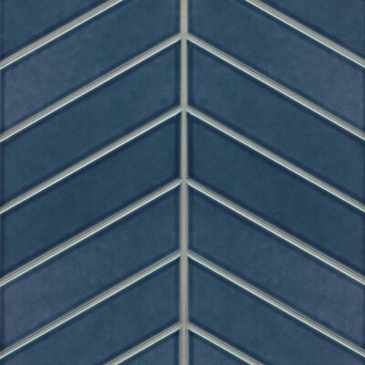 Provincetown 2.5 x 9 Ceramic Field Tile in Blue