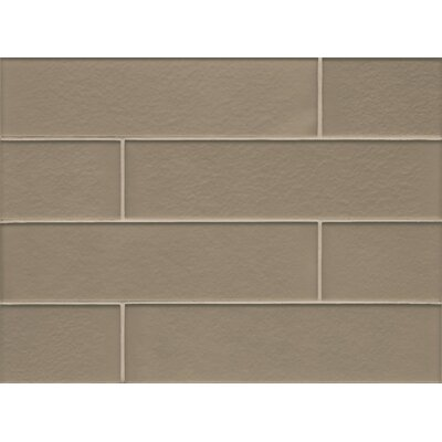 Remy Glass Field Matte Tile in Ash
