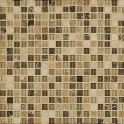 Carlisle 12 x 12 Mosaic Linear Blend Tile in Tenby