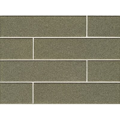 Remy Glass Gloss Field Tile in Verdant