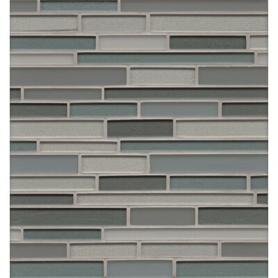 Remy Glass 12 x 13 Blends Mosaic Random Interlocking in Bloomington