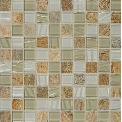 Queenstown 12 x 12 Stone Mosaic Tile in Toko