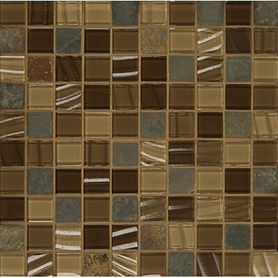 Queenstown 12 x 12 Stone Mosaic Tile in Hawke