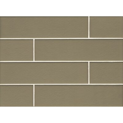 Manhattan 4 x 16 Glass Field Tile in Matte Mint