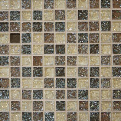 Staccato Mosaic Gloss Tile in Beige