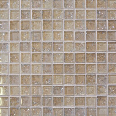 Staccato Mosaic Gloss Tile in Tawny