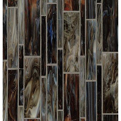Kailua Random Sized Glass Mosaic Tile in Surf