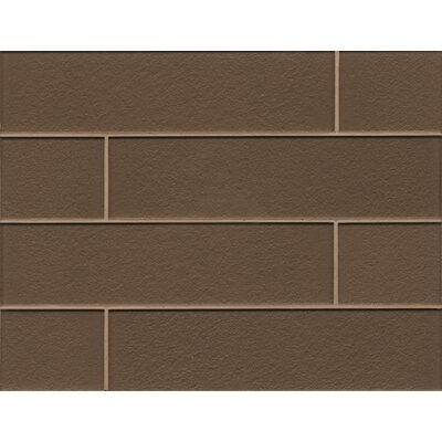 Remy Glass Field Tile Gloss in Brown