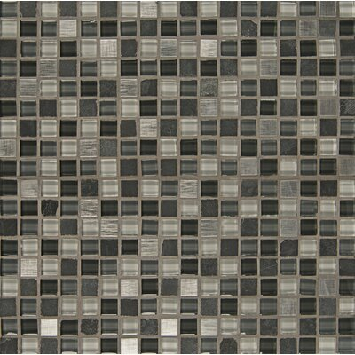 Queenstown 12 x 12 Stone Mosaic Tile in Ashton