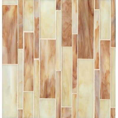 Kailua Mosaic Linear Blend Tile in Sand