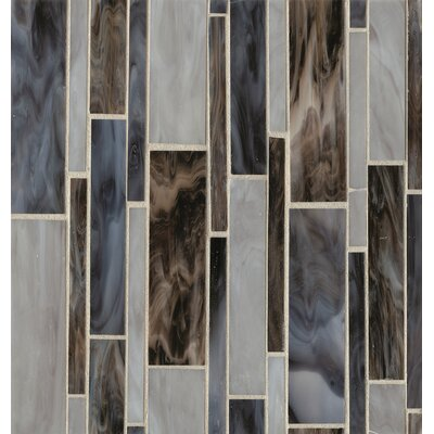 Kailua Mosaic Linear Blend Tile in Wave