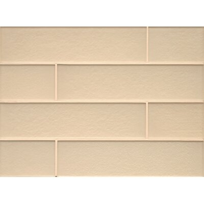 Remy Glass Matte Field Tile in Blonde