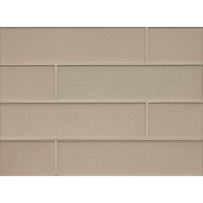 Remy Glass 4 x 16 Field Tile Matte in Frost