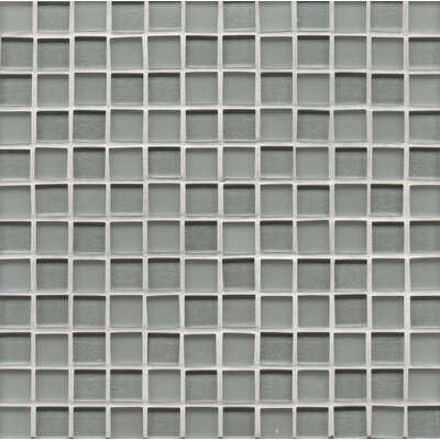 Manhattan 0.94 x 0.94 Glass Mosaic Tile in Multi