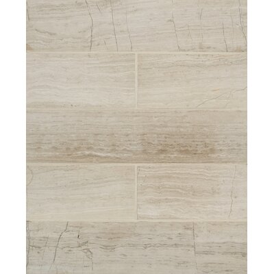 Maison 2.94 x 12 Marble Wood Look/Field Tile in�Ashen Gray