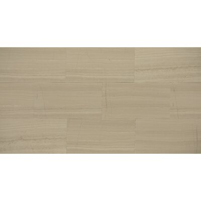 Maison 12 x 12 Marble Wood Look/Field Tile in�Ashen Gray
