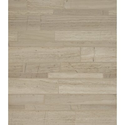 Maison Random Sized Marble Mosaic Tile in�Ashen Grey