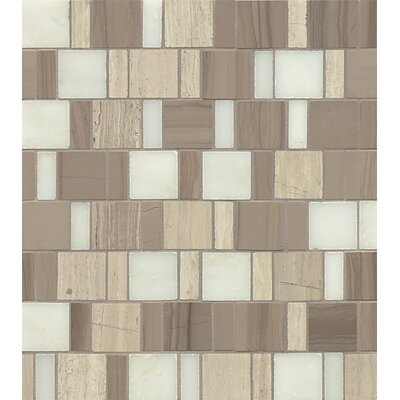 Maison Random Sized Marble Mosaic Tile in Penthouse