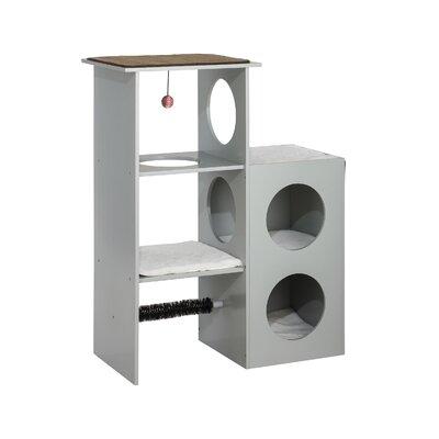 38.5 Zoe Tower Cat Condo