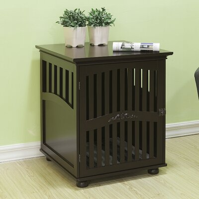 Brock Buddy Residence Pet Crate End Table Size: Medium (29.5 H x 25 W x 26.5 L)
