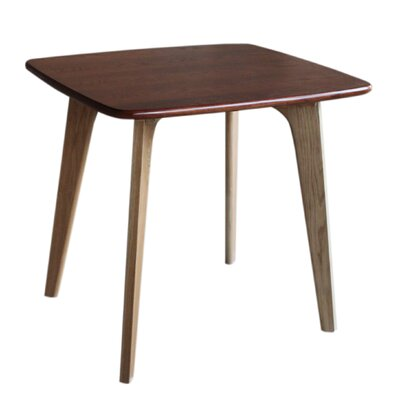 Vista Square Dining Table Top Finish: Brown