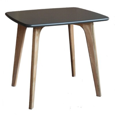 Vista Square Dining Table Top Finish: Grey
