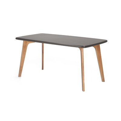 Vista Rectangle Dining Table Top Finish: Grey
