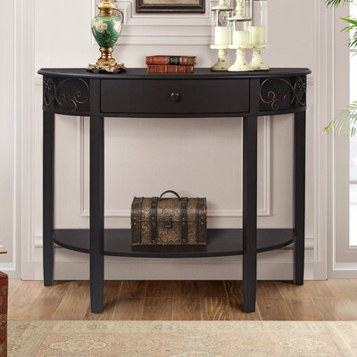 Sutton Console Table Finish: Espresso