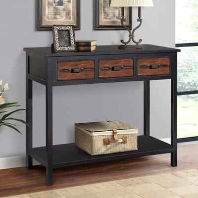 Adirondack Console Table Finish: Espresso