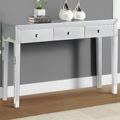 Reflections Console Table Finish: Mirror