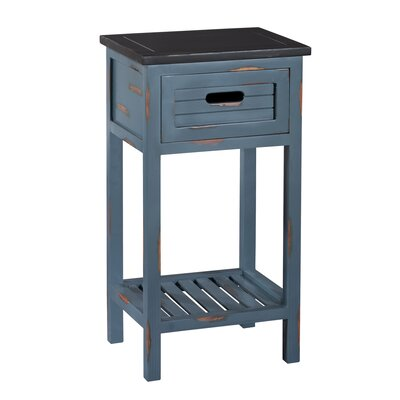 Shoreham End Table Finish: Blue