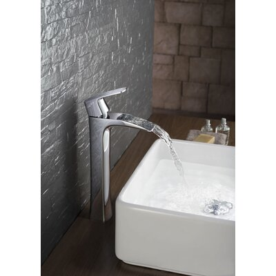Single Handle Centerset Vessel Sink Faucet