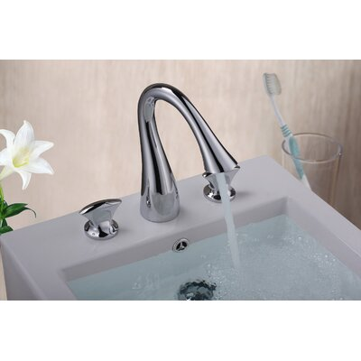 Double Handle Sink Faucet Finish: Chrome