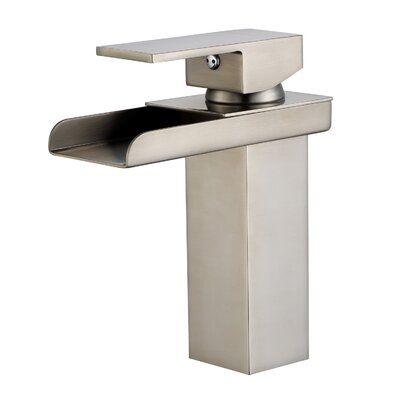 Single Handle Widespread Bathroom Faucet
