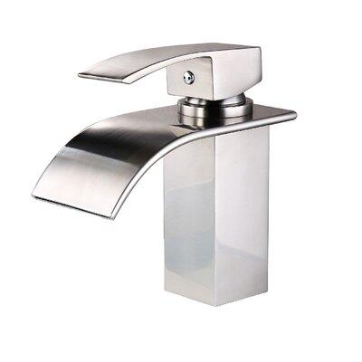 Single Handle Widespread Bathroom Faucet