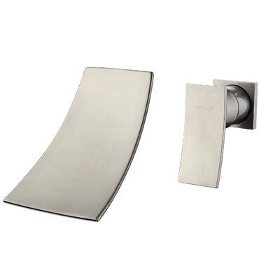 Wall Mount Single Handle Widespread Bathroom Faucet