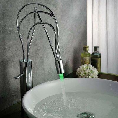Single Handle Deck Mount LED Vessle Faucet S1351CL