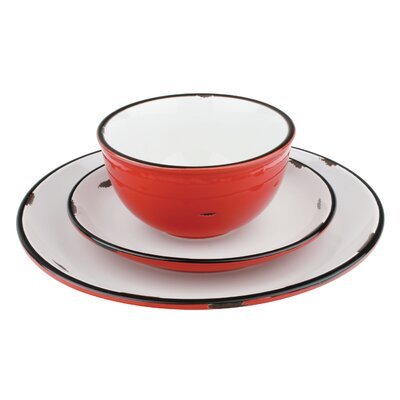 """Canvas Home Tinware 11"""" Dinner Plate"""