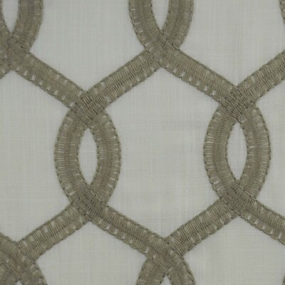 Nantucket Curtain Fabric Color: Natural