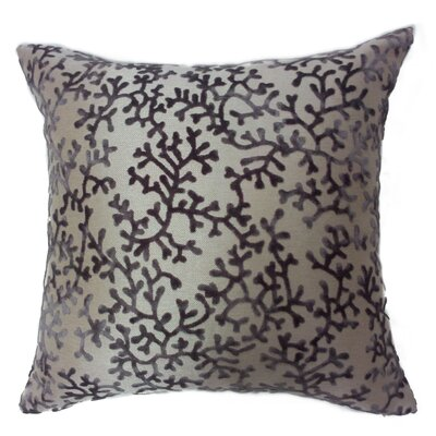 Coral Throw Pillow Color: Lavender
