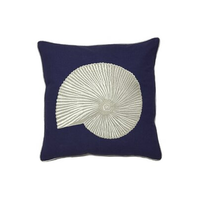 Nautical Shell Throw Pillow