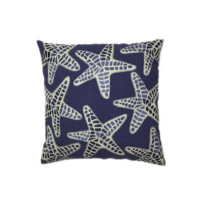 Nautical Starfish Throw Pillow