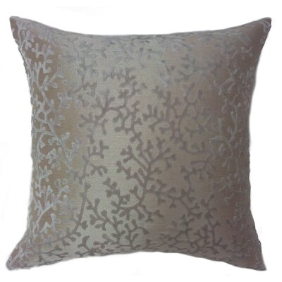 Coral Throw Pillow Color: Mist