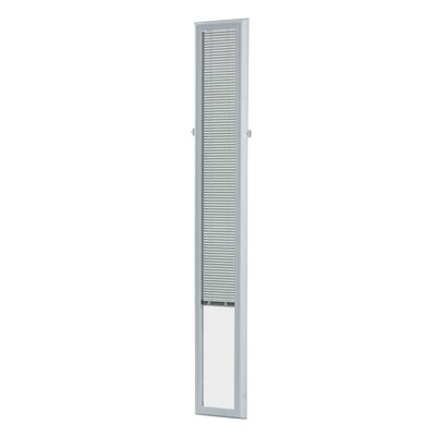 Cordless Add on Enclosed Door Venetian Blind Size: 9 W x 66  L x 1.5 D (7 X 64 Sidelights)