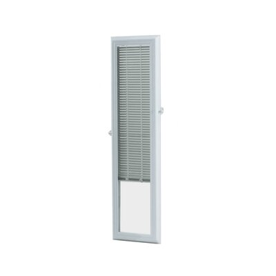 Add On Enclosed Door White Venetian Blind Size: 10.75 W x 38.75 L