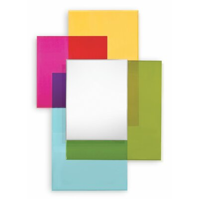Tanaka Multi Color Glass Mirror