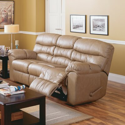 Durant Leather Sofa Upholstery: All Leather Protected - Tulsa II Sand, Reclining Mechanism: Powered