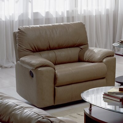 Yale Recliner Type: Power, Upholstery: All Leather Protected - Tulsa II Stone